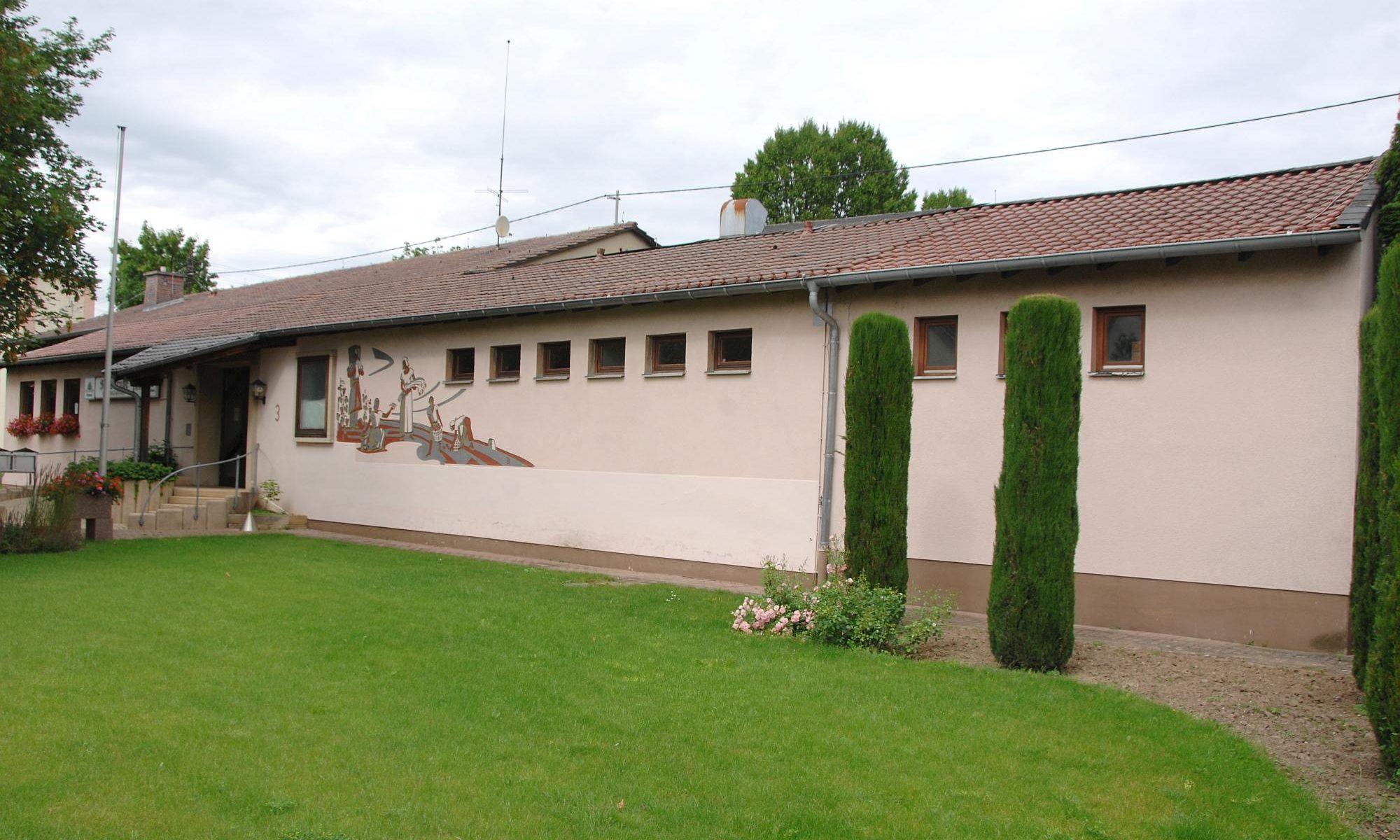 Das Bürgerhaus in Heuchelheim bei Frankenthal